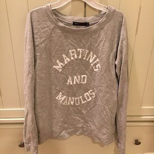 Martinis and Manolos Pullover